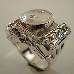 With this ring I thee #Hemi.  HEMI 426 Sterling Silver Ring.