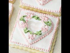 ▶ Primrose Garden Tufted Heart on a Sugar Cookie - YouTube