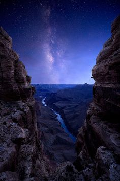 As Darkness Falls on The Grand Canyon