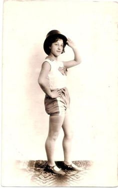 My great aunt aged 14