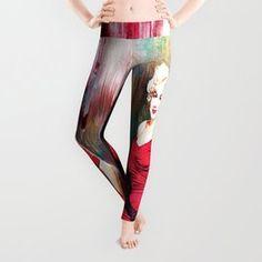 Marilyn's Boudoir Leggings Pop Up Art, Watermelon Tourmaline, Mandala Coloring, Boudoir, Celtic, Daughter, Leggings, Purple, Shopping