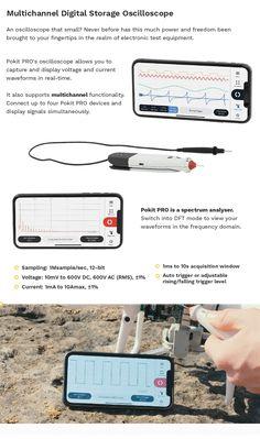 Pokit PRO | All-in-one multimeter, oscilloscope and logger by Pokit Innovations — Kickstarter