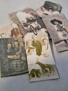 DIY faux tintypes