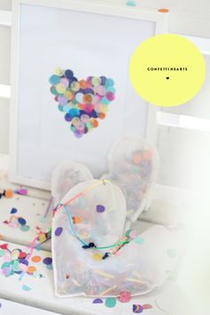 Make a heart thumbprint with LC