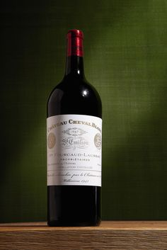 Cheval Blanc and Yquem 1892 – 2009 Direct From The Cellars, New York: Château Cheval Blanc 1947 - This bottle had never left the Chateau's cellars before it was auctioned in May 2012