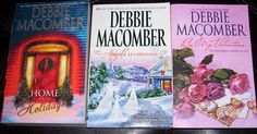 Set of Three Debbie Macomber Romance Books by HopesVarietyShop