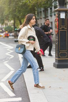 """Maybe she's born with it, maybe she's naturally THAT cool? Learn how to """"fake cool"""" right this way ----> http://www.manrepeller.com/2015/06/how-to-look-cool.html"""
