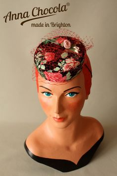 Burlesque Pillbox Hat - Anna Chocola® 2013