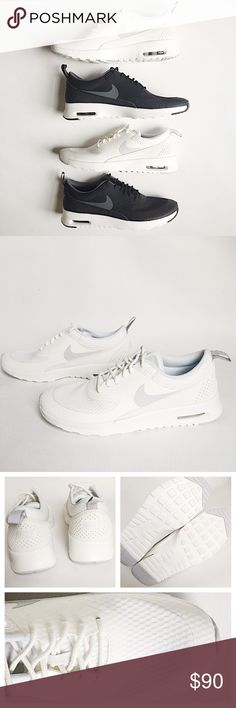 Nike Airmax Thea Textile Shoes Nike Air Max Thea Textile in white featuring classic style in a lightweight, breatheable material.  NWT, never worn!  Original box included.  Authentic, no trades. Nike Shoes
