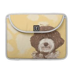 Labradoodle Macbook Sleeve Personalized Backround Sleeve For MacBooks