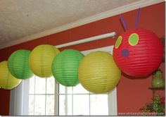 The Very Hungry Caterpillar party idea