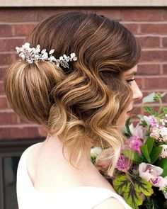 50 Incredible Long Wedding Hairstyles from Hair & Makeup by Steph | Deer Pearl Flowers - Part 3 / http://www.deerpearlflowers.com/long-wedding-hairstyles-from-hair-makeup-by-steph/3/