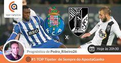 O nosso Champion Pedro_Ribeiro26, #1 Top Tipster de Sempre do ApostaGanha, lança o seu lucrativo prognóstico para o FC. Porto vs Vit. Guimarães. Faz like e diz-nos qual vai ser a tua aposta.  http://www.apostaganha.pt/2015/02/13/porto-vs-guimaraes-primeira-liga-8  #apostasdesportivas #apostasonline #futebol #desporto #fcporto #prognosticos #vitoriasc #sportbets