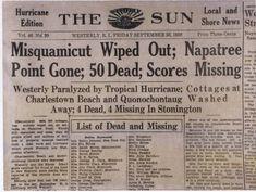 1938 hurricane massachusetts - Google Search