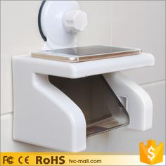 Suction Cup Bathroom Kitchen Toilet Paper Tissue Holder