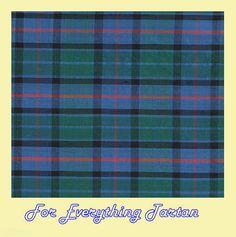 Flower Of Scotland Tartan Dupion Silk Plaid Fabric Swatch  by JMB7339 - $40.00
