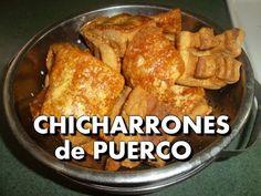 Receta Para Chicharrón - Cómo Hacer Chicharrón Colombiano - SyS - YouTube Fried Pork Belly Recipe, Pork Belly Recipes, Puerto Rican Recipes, Mexican Food Recipes, Mexican Snacks, Food Plus, Spanish Cuisine, Colombian Food, Most Delicious Recipe