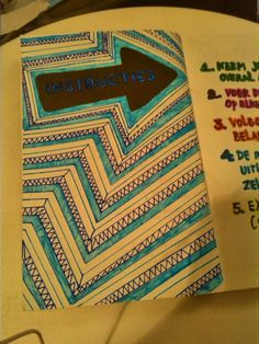 Wreck this journal - I will do this but in bolder colours and I will make the corners rounded (1)