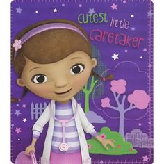 Doc McStuffins Blanket from Funstra Toys