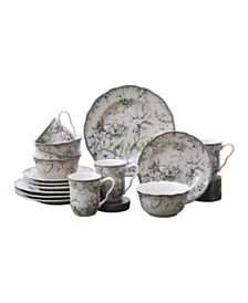 Martha Stewart Collection English Garden Collection, Created for Macy's & Reviews - Dinnerware - Dining - Macy's Ginger Jar Lamp, Ginger Jars, Martha Stewart, Other Accessories, Tea Set, Dinnerware, Serving Bowls, English, Dining