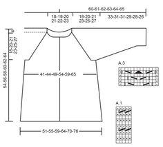 Wavelength Cardigan / DROPS 177-21 - Gestrickte Jacke mit Lochmuster und Raglanärmeln in DROPS Paris. Größe S - XXXL. - Free pattern by DROPS Design