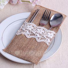 Lovely Linen Cutlery Bag (Set of 6) (051063412)
