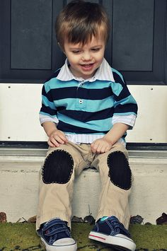 Boy Patch Pants