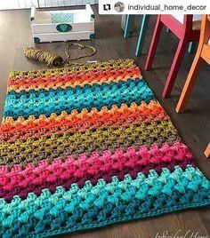 Anti Slip For Carpet Runners Crochet Doily Rug, Crochet Carpet, Crochet Rug Patterns, Crochet Bedspread, Freeform Crochet, Diy Crochet, Small Round Rugs, Knit Rug, Crochet Video