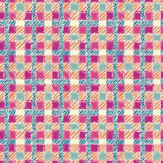 Crosshatch (Fuschia) - Plaid Texture Fabric - The Textile District design to custom print for home decor, upholstery, and apparel. Pick the ground fabric you need and custom print the designs you want to create the perfect fabric for your next project. https://thetextiledistrict.com #designwithcolor #fabrics #interiordesign #sewing