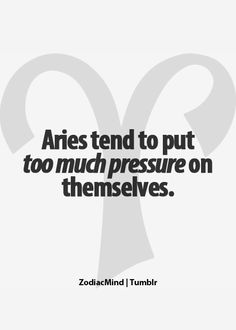 Aries: May the truth be told.