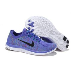 low priced 9b6dd 0a98b Nike-Free-4.0-Flyknit-Women s-Running-Shoe-Purple-
