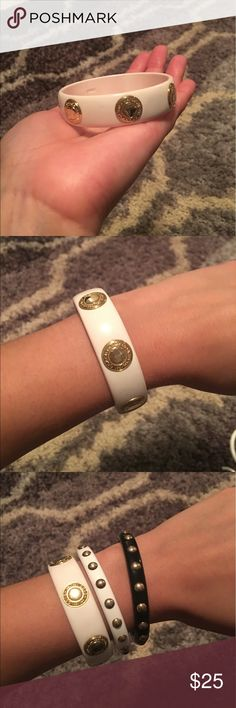 Authentic Coach bangle New condition. See listings for black and white studded bangles. Coach Jewelry Bracelets
