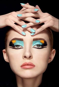 Mykel Renner | Makeup Portfolios | Beauty 2 | Fantasy #nails