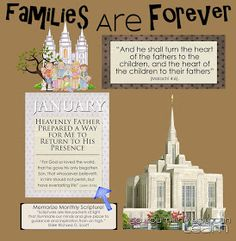 So You Think You Can Learn: 2014 Families Are Forever Bulletin Board & Monthly Posters