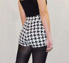 houndstooth- could I pull this off for football season?