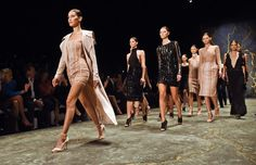 Pin for Later: Bella Hadid's Making This Sexy New Label So Major at Australian Fashion Week Bella Leading the Finale on the Misha Collection Runway