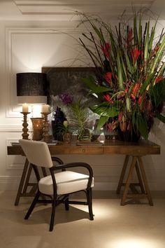 15 Mesas de cavaletes em home offices – veja modelos lindos e sofisticados!