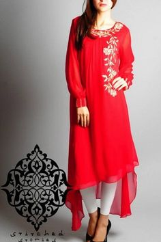 Spring 2014 Pakistani Kameez Collection by Stiched Stories