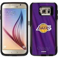 Los Angeles Lakers Jersey Design on OtterBox Commuter Series Case for Samsung Galaxy S6