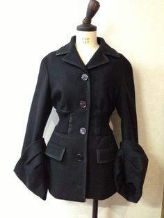 PRADA PANNO CERATO coat from 2013-2014 A/W collection. Bought in Milan.