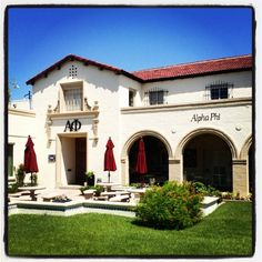 Our pretty house! Arizona Alpha Phi