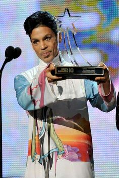 In 2010 Prince Was Honored With The BET Lifetime Achievement Award  ...