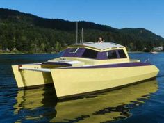 The Ideal Pacific NW Cruiser (a Skoota powercat!)