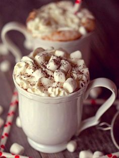 Image de marshmallow, winter, and chocolate