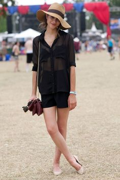 Amber at Festival Style Inspiration from the Girls of Bonnaroo