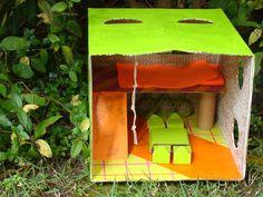 Casa aventura, com decoração contemporânea.   Casa Aventura, con una decoración contemporánea.