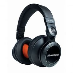 audio headphones Well known for its studio monitors and audio interfaces, M-Audio obviously knows a thing or two about sound quality. The M-Audio Headphones are no exception. New Headphones, Studio Headphones, Wireless Headphones, Audio Hifi, M Audio, Recording Studio Equipment, Moto Suzuki, Thing 1, Hardware