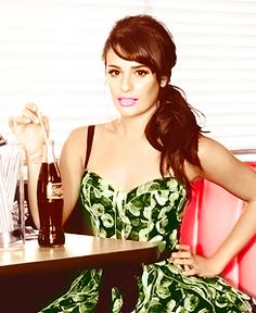 Lea Michele. So strong and beautiful!