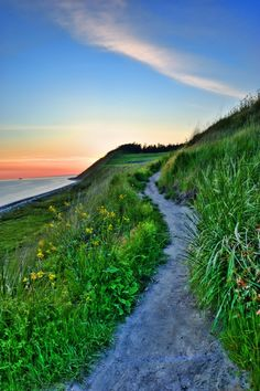 Ebey's Landing Hike on the stunning Whidbey Island! Sunset Ahoy!