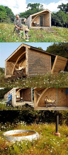 Kevin McCloud's Hand Made Home. The ultimate shed